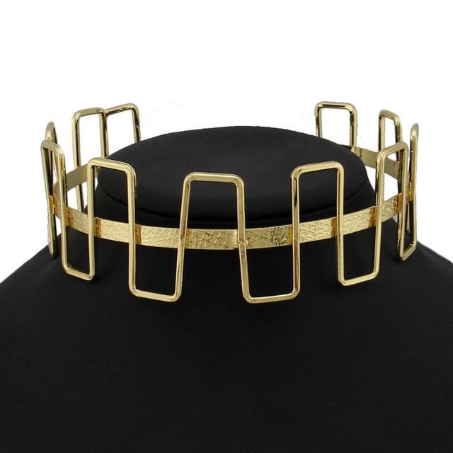 The Individualist Choker - Gold - Choker