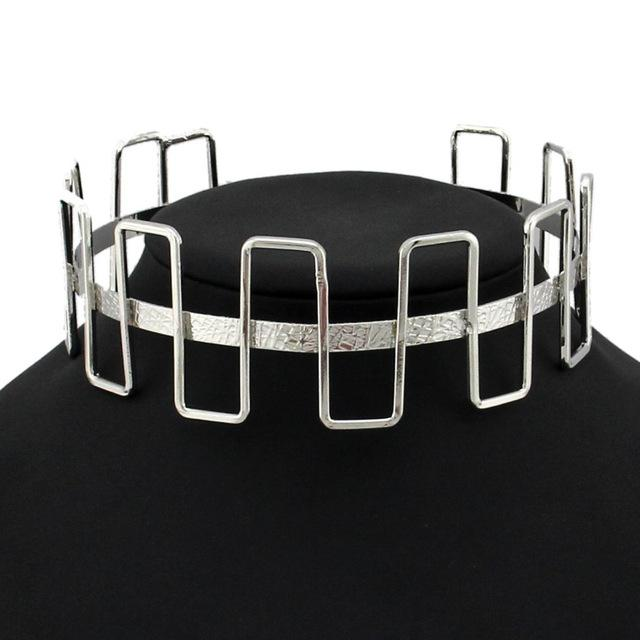 The Individualist Choker - Silver - Choker