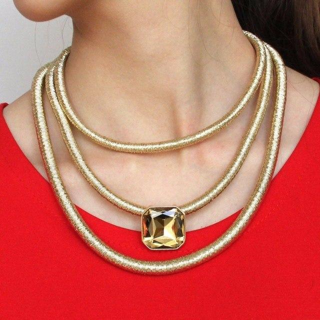 Chunky Monkey Statement Necklace Collection