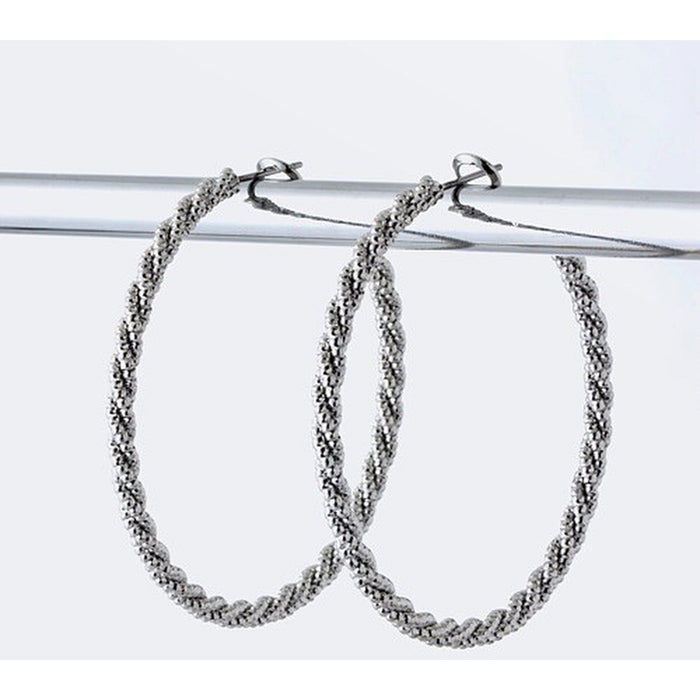 Twisted Hoops - Earrings