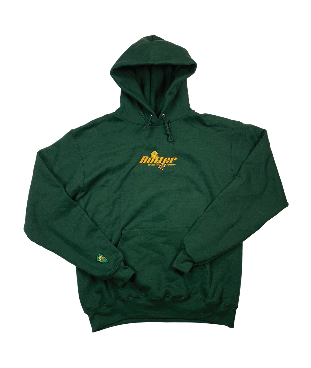 Forest Green Larry O'Butter Hoodie