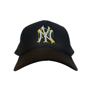 Black New York Yankees Dip City Trucker