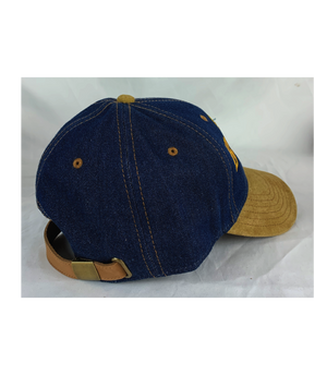 Larry O'Butter Nubuck Denim Cap