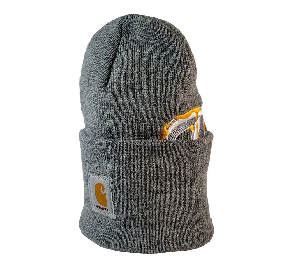ReWorked Grey Blue Jays Carhartt Beanie