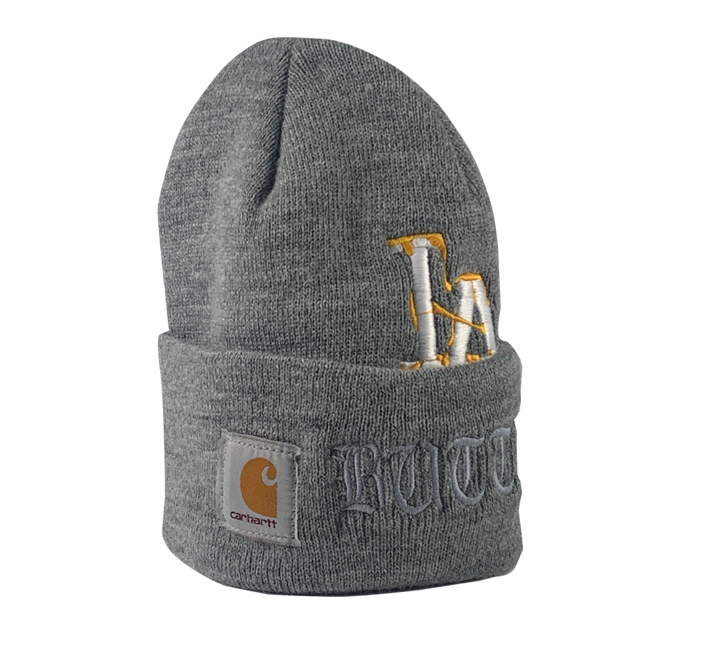 ReWorked Grey Dodgers Carhartt Beanie