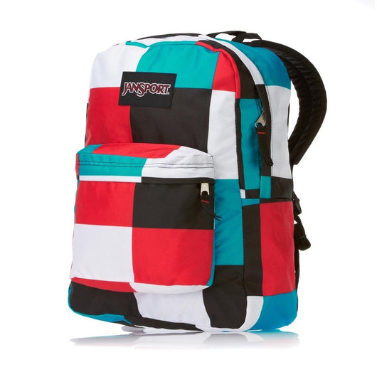 Rectangular Pattern Bagpack