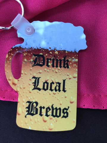 Personalized Stein Key chain