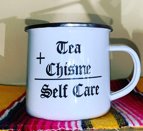 Self care camp mugs