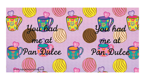 Pan dulce quotes mug