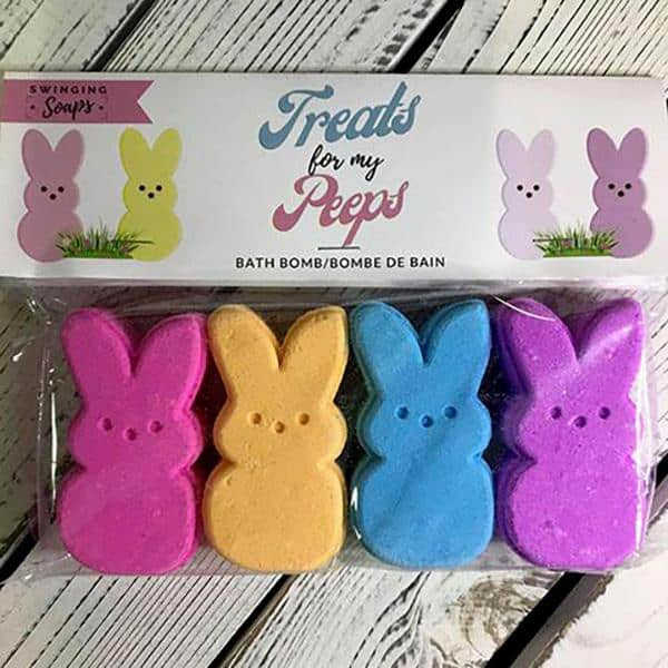 Bath Bomb Set- Assorted Peeps
