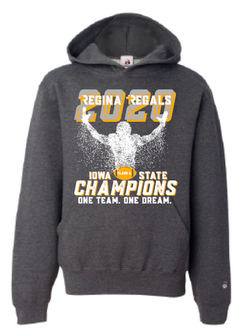 2020 Regina State Football Champs Badger - Youth Hooded Sweatshirt