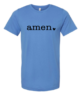 2020 Amen BELLA + CANVAS - Unisex Jersey Tee