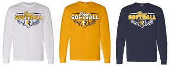 Regina Softball Long Sleeve Cotton T-Shirt