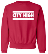 2021 City High Track Champion - Reverse Weave® Crewneck Sweatshirt