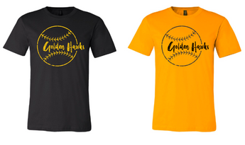 Mid Prairie Baseball Bella+Canvas T-Shirt