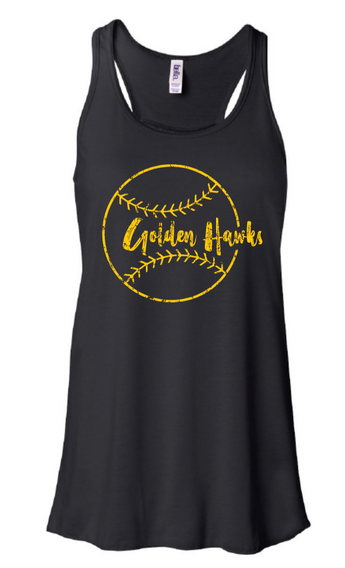 Mid Prairie Baseball Bella+Canvas Women's Tank