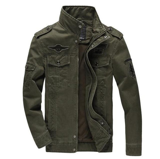 TAWILL Mens Military Army Soldier Jacket Plus 6XL FREE SHIPPING! - The Consumers Marketplace