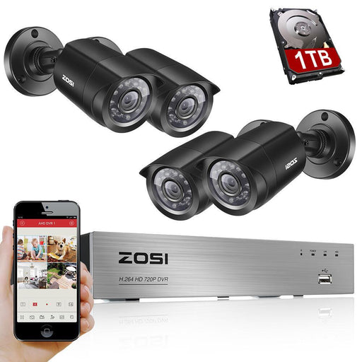 ZOSI 8CH CCTV Security System Weatherproof Security Camera Video Surveillance FREE SHIPPING! - The Consumers Marketplace