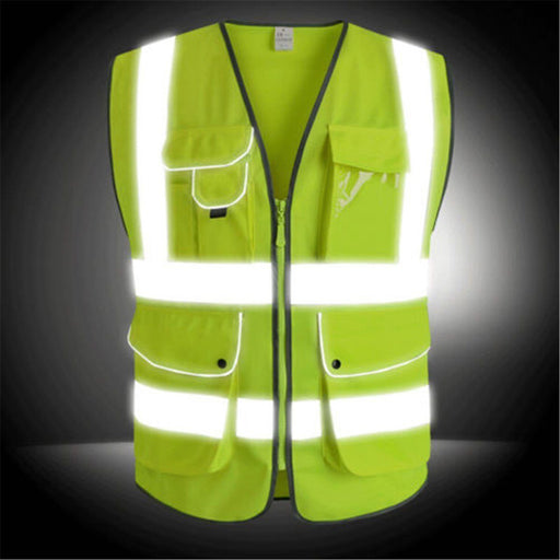 Safurance Unisex High Visibility Reflective Safety Construction Worker Vest - The Consumers Marketplace