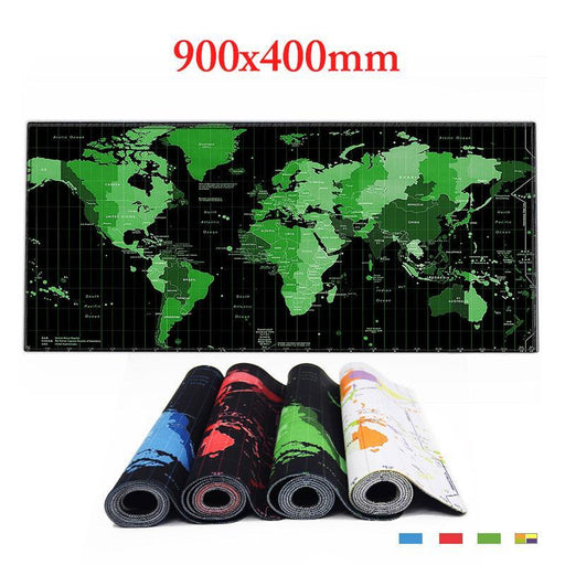 World Map Gaming Mouse Pad Many Colors FREE SHIPPING! - The Consumers Marketplace