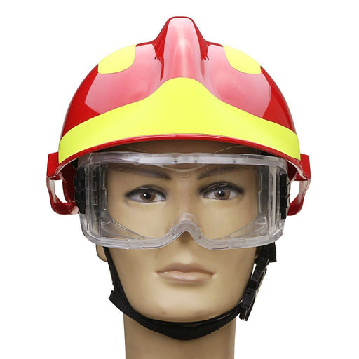 Rescue Helmet With Fire Fighter Protective Glasses Safety Protection FREE SHIPPING! - The Consumers Marketplace