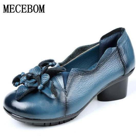 Woman high heels ladies pumps genuine leather shoes FREE SHIPPING! - The Consumers Marketplace