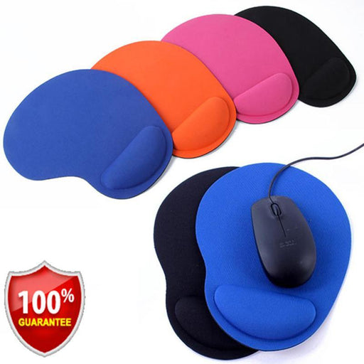 Optical Mouse Pad With Wrist Support Many Colors FREE SHIPPING! - The Consumers Marketplace