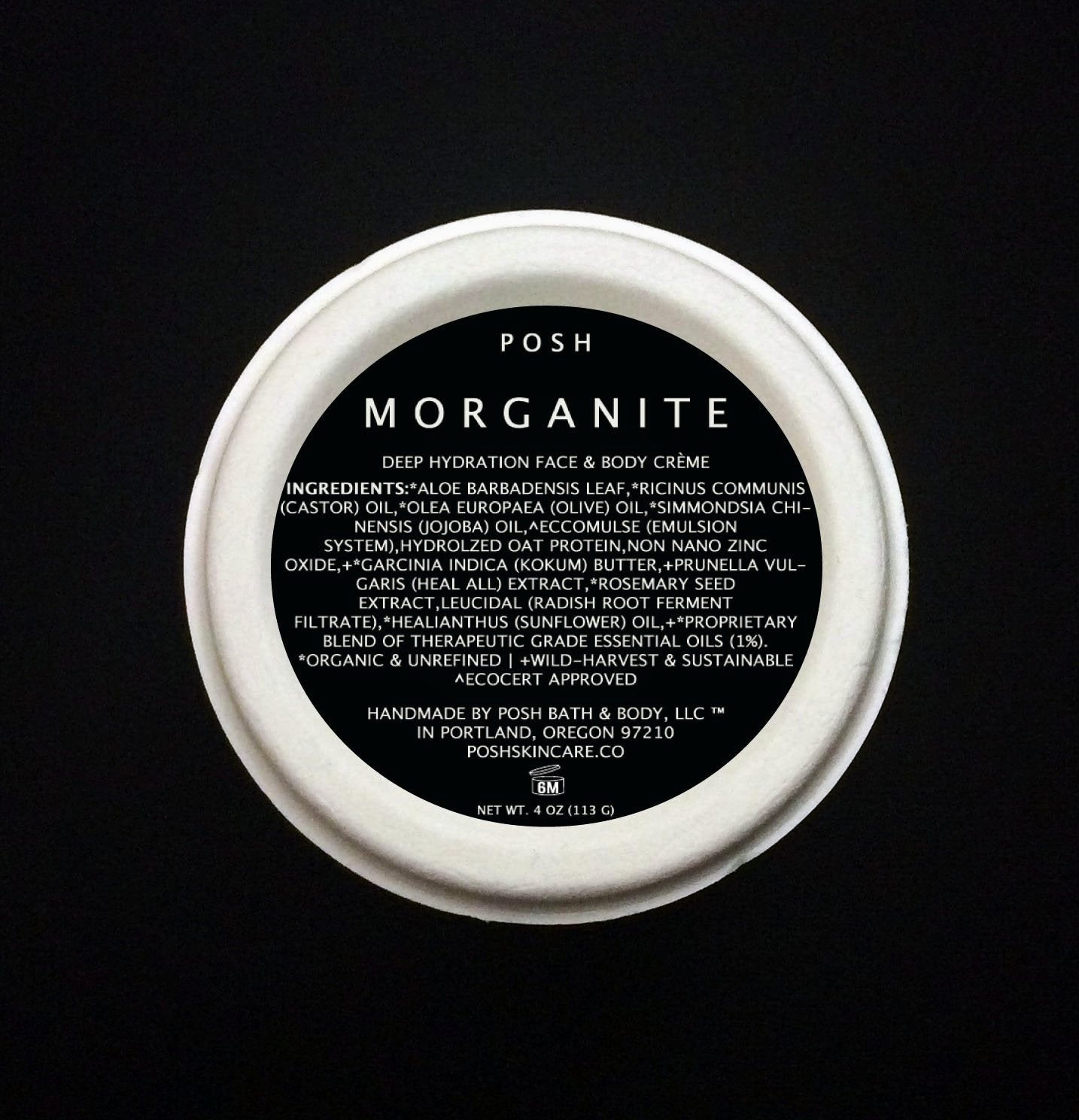 MORGANITE Face & Body Creme//All Types of Skin//Meditate Aroma
