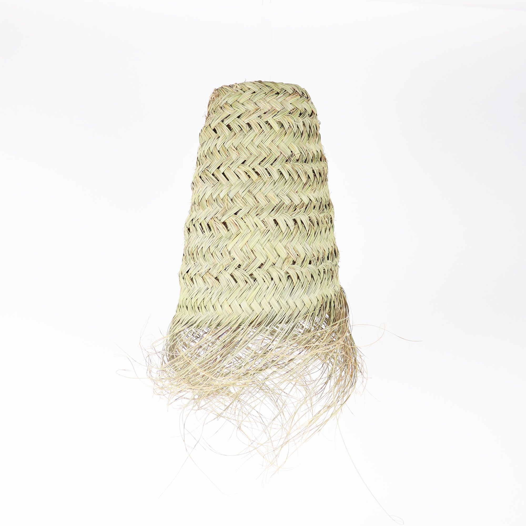 Hand woven Straw light pendant