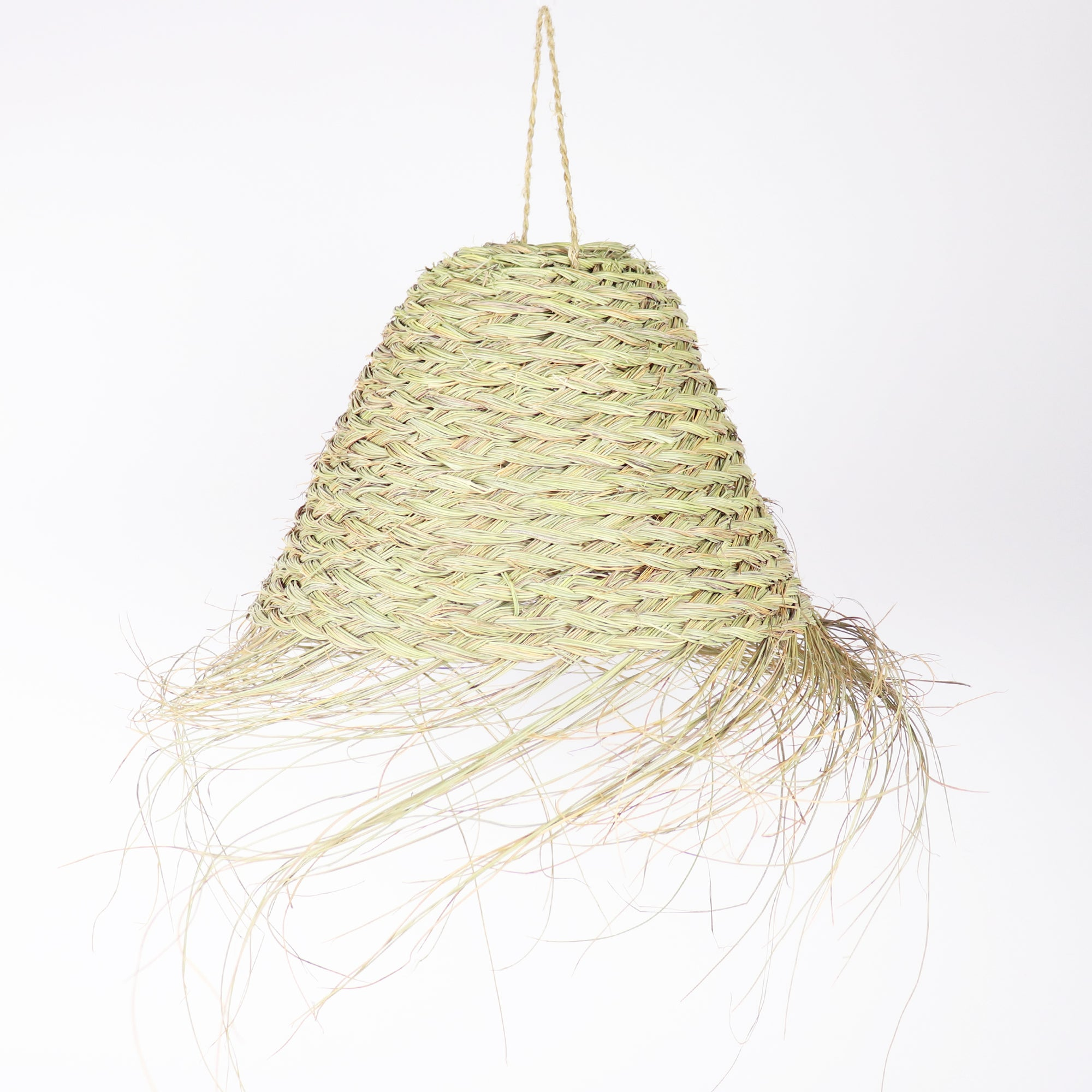 Straw light pendant