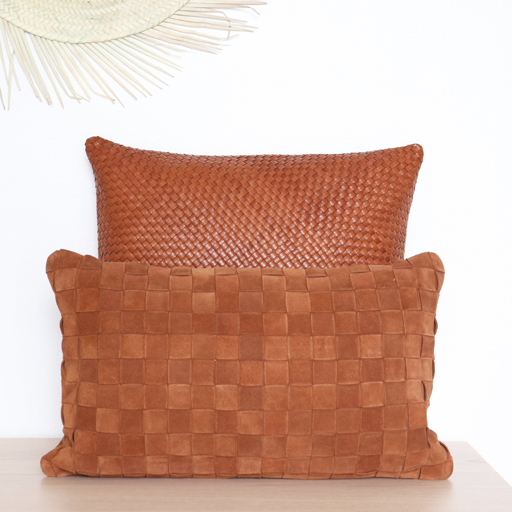 NOHO Suede Pillow Cover
