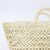 open weave straw bag