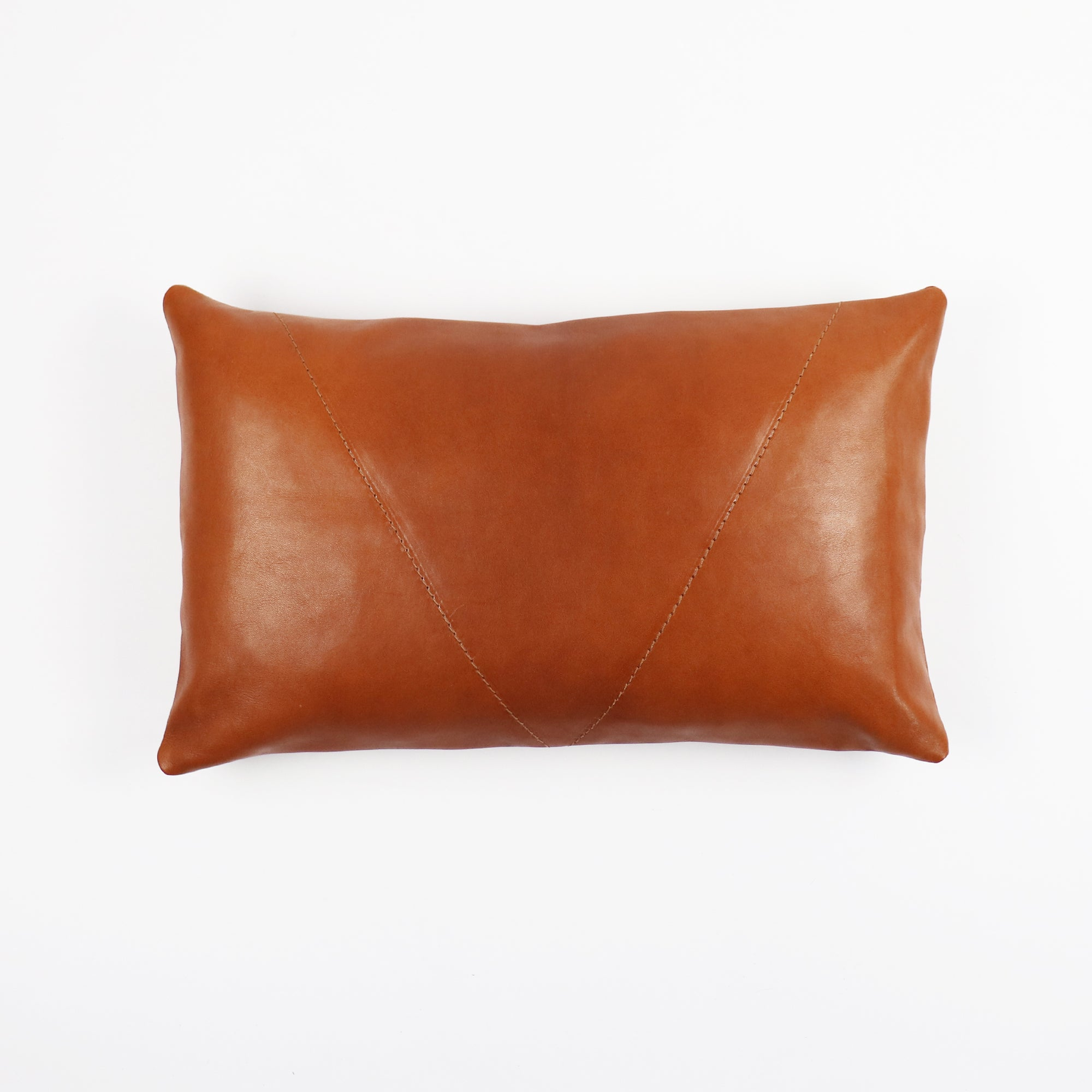 BOWERY Leather Pillow Cover