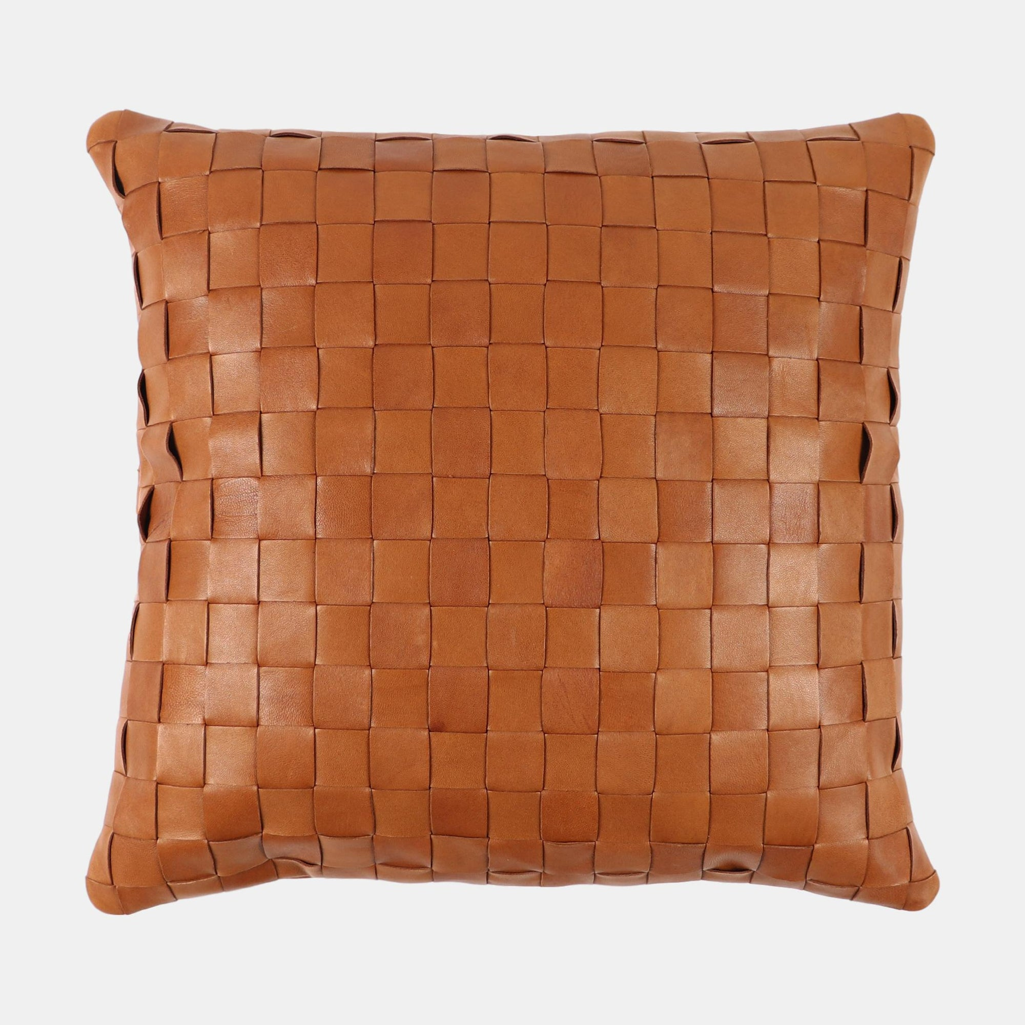 MALIBU Leather Pillow Cover