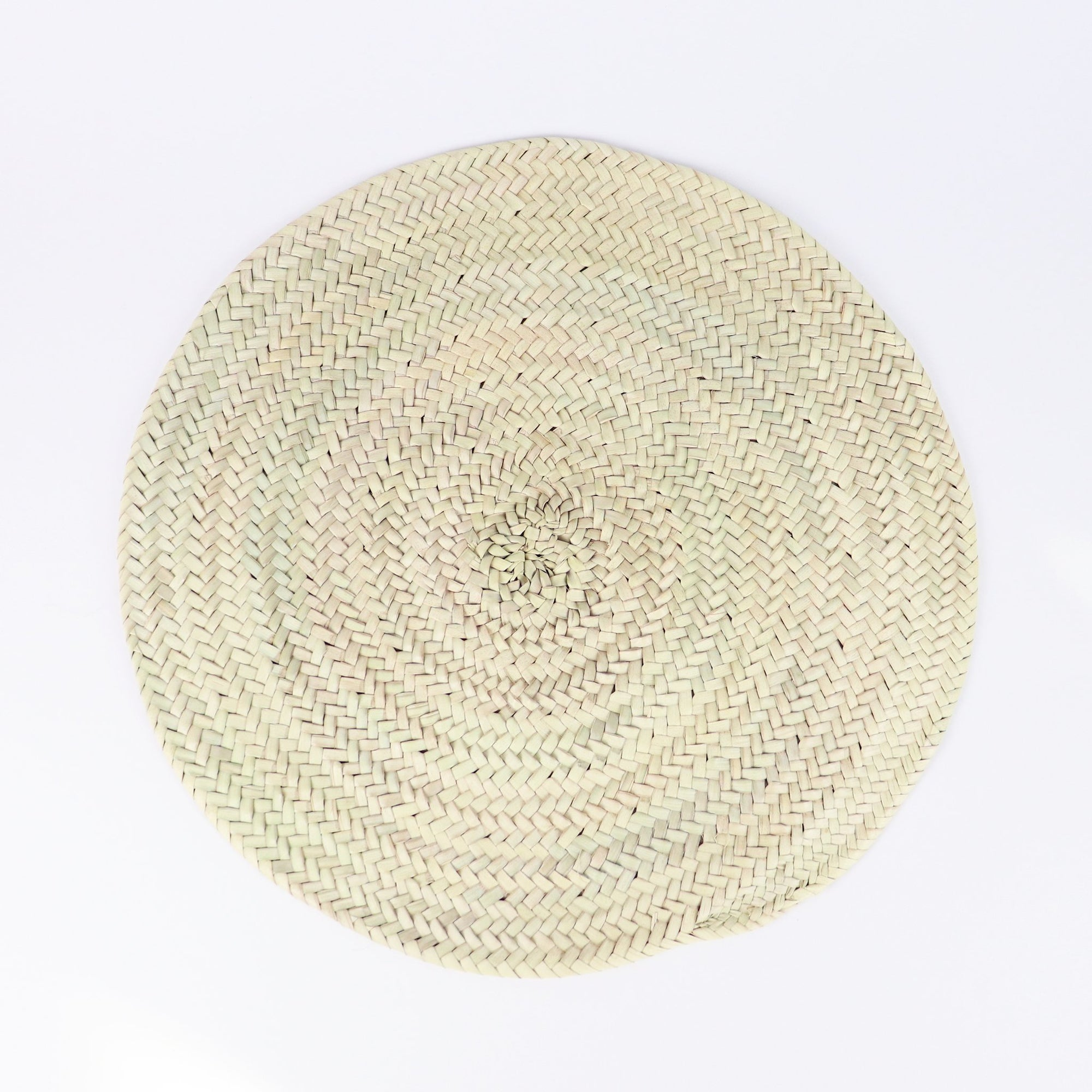 Straw Round Placemat
