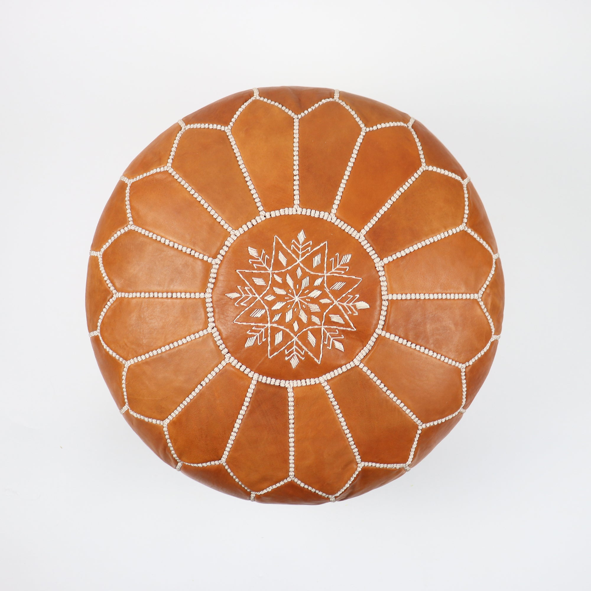 California Pouf - Cognac