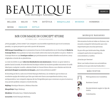 beautique made in concept store