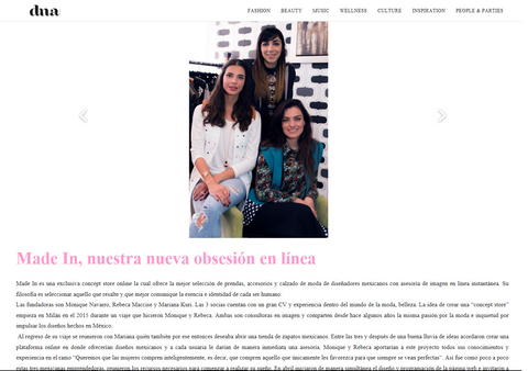 dna magazine made in concept store