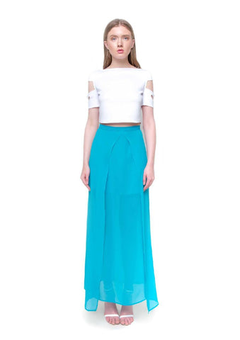 Crop top Monroe blanco