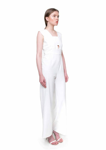 Jumpsuit Jakie blanco