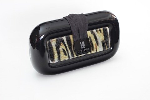 Clutch rectanvalic leopardo