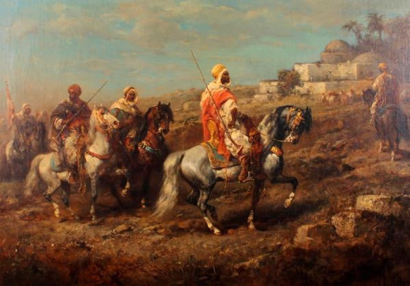 Moorish Jigsaw Puzzles : Moors On Horses