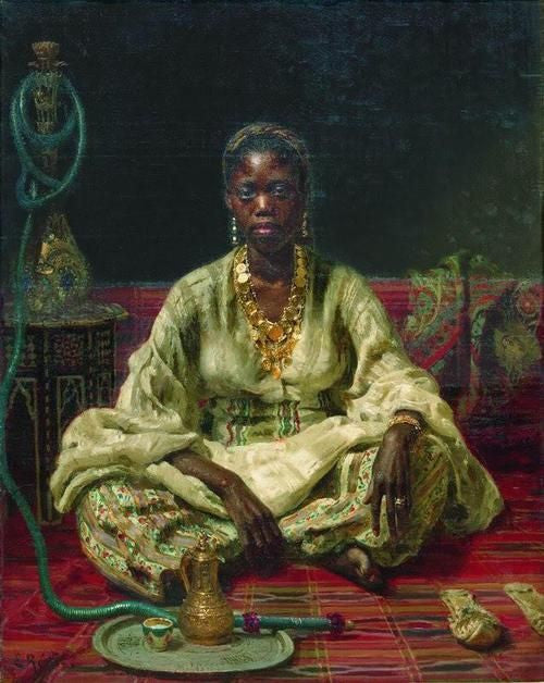 Moorish Jigsaw Puzzles : Sitting Woman