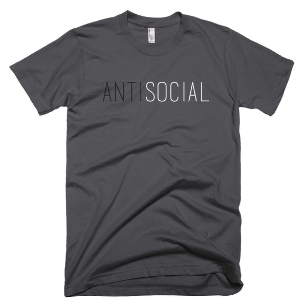 (ANTI)SOCIAL Short sleeve men's t-shirt