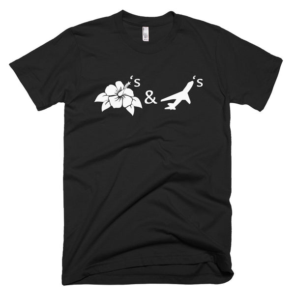 Flowers & Planes Short sleeve men's t-shirt