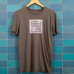 Heath Newsstand Logo T-Shirt (Square Charcoal)