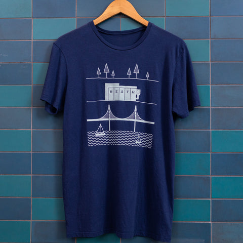 Heath Location T-Shirt (Sausalito)