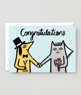 Wrap - Congratulations Dog and Cat