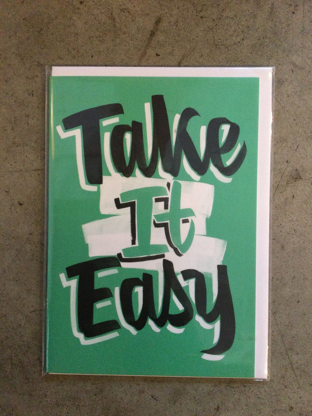 Wrap - Take it Easy