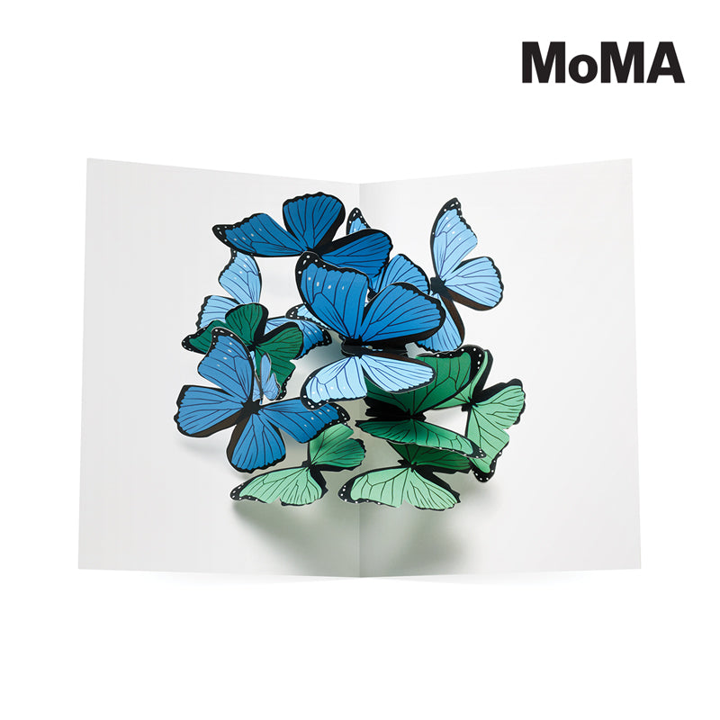 MOMA - Beautiful Butterflies Pop up Card